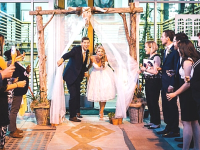 how to diy a wedding arbor