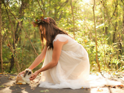 Snow White Woodland PhotoShoot