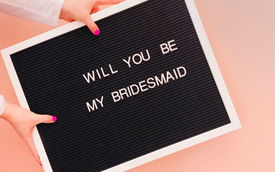 An Easy DIY Bridesmaid Proposal