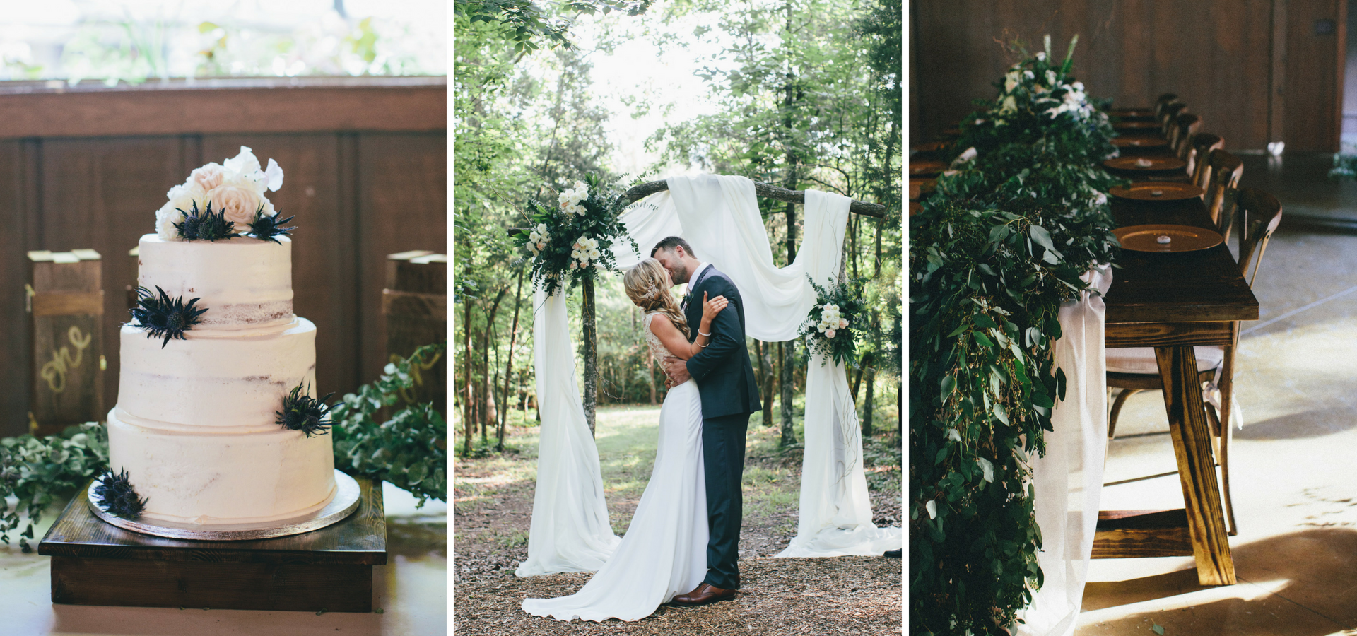 North Carolina Wedding in the Woods